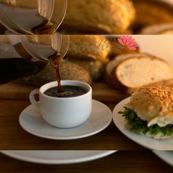 Imagem Ilustrativa de um café